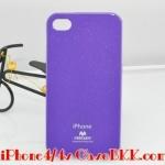 เคสไอโฟน4 /4s Mercury JELLY สีม่วง