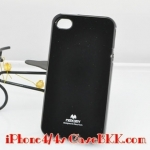 เคสไอโฟน4 /4s Mercury JELLY สีดำ