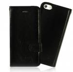 เคสไอโฟน5 5s ฝาพับ สีดำ