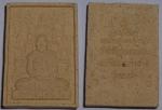 พระผงหลังโต๊ะหมู่หลวงปู่หลวง กตปุญโญ วัดคีรีสุบรรพต รุ่นแรก สวย