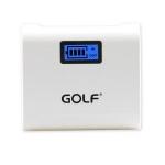 แบตสำรอง Golf GF-LCD02 5200 mAh สีขาว