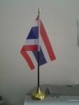 ธงตั้งโต๊ะ พลาสติก ชุดธงชาติไทย