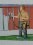 เครื่องพ่นสีมืออาชีพ หัวฉีดทองเหลือง กาพ่น สแตนเลส ราคาโดนใจ