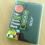 แบตสำรอง Golf GF-205 13,000 mAh สีดำ