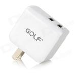 Adpater Golf GF-U201 รุ่น 2 ช่อง USB