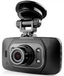 กล้องบันทึกรถยนต์ GS8000L เบาบาง เลนส์ใหญ่และหน้าจอ LCD ขนาด 2.7 นิ้ว กว้างเต็มต