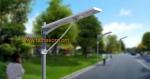 โคมไฟถนน LED โซล่าเซลล์ All in one solar street light ขนาด 60W