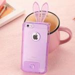 เคสไอโฟน5 5s หูกระต่าย สีม่วง