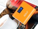 แบตสำรอง Golf GF-LCD02 5200 mAh สีส้ม