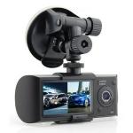 กล้องบันทึก ติดหน้ารถ รุ่นR300 GPS สองกล้อง เมนูไทย!! สินค้าใหม่