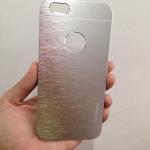 เคสไอโฟน 6 motomo โชว์โลโก้ สีเงิน