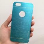 เคสไอโฟน 6 motomo โชว์โลโก้ สีฟ้า