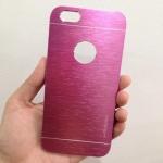 เคสไอโฟน 6 motomo โชว์โลโก้ สีชมพู