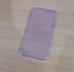 เคสไอโฟน 6 เคสยางสีม่วงใส