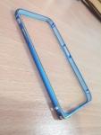 เคสไอโฟน 6 เคสบัมเปอร์ สีฟ้า