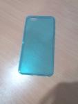 เคสไอโฟน 6 พลัส เคสยางสีฟ้าใส