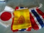 ธงชาติผ้าร่ม, ธงชาติผ้าต่วน, ธงชาติผ้าโทเร, ธงชาติผ้าเสริท