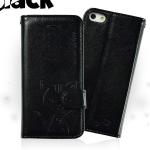 เคสไอโฟน 6 ฝาพับ domicat สีดำ