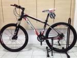 (หมด)จักรยานเสือภูเขา Twitter รุ่น TW3300 สี ดำ-แดง