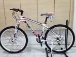(หมด)จักรยานเสือภูเขา Twitter รุ่น TW3300 สี ขาว-แดง