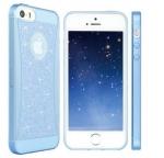 เคสไอโฟน 6 พลัส เคสยางเพรช สีฟ้า