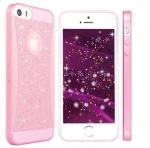 เคสไอโฟน 6 พลัส เคสยางเพรช สีชมพู