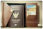Passport Case สมุดใส่เอกสารพาสปอร์ต ใส่การ์ด