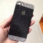 เคสไอโฟน 4 4s กากเพรช ดำ