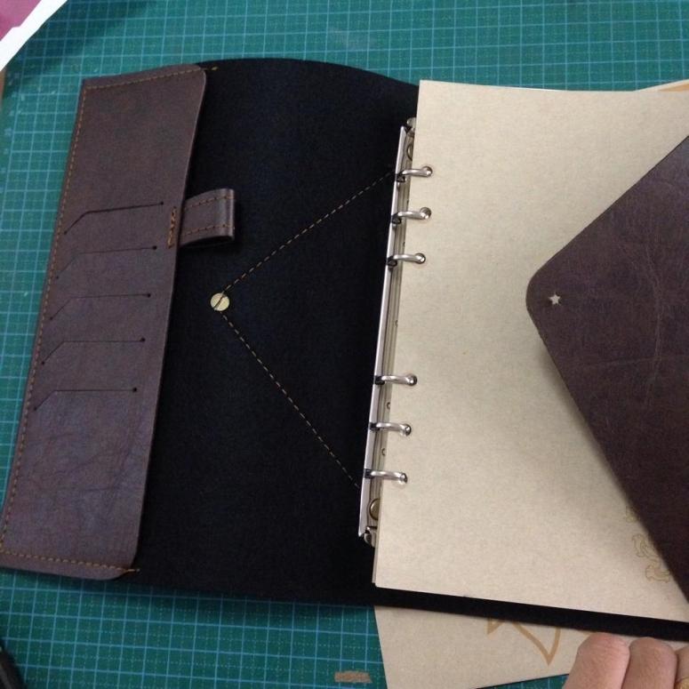 สมุดโน๊ตทำมือ,สมุดโน๊ตแฮนเมด,สมุดโน๊ตปกหนัง,สมุดปกหนังสลักชื่อ,สมุดHandmade,Diary handmade, Notebook handemade