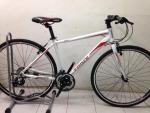(หมด) จักรยานไฮบริด TrinX รุ่น P500 สีขาว/แดง