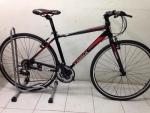(หมด) จักรยานไฮบริด TrinX รุ่น P500 สีดำ/แดง