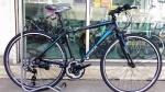 (หมด) จักรยานไฮบริด TrinX รุ่น P500 สีดำ/ฟ้า
