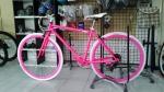 จักรยานไฮบริด TrinX รุ่น P260 สีชมพู