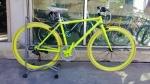 จักรยานไฮบริด TrinX รุ่น P260 สีเขียวมะนาว