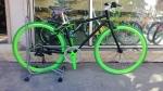 จักรยานไฮบริด TrinX รุ่น P260 สีดำ/เขียว