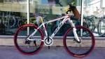(หมด)จักรยานเสือภูเขา Shita รุ่น A700 สีขาว/แดง