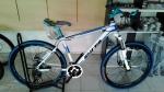 (หมด)จักรยานเสือภูเขา Shita รุ่น A700 สีขาว/ฟ้า