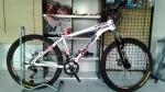 (หมด)จักรยานเสือภูเขา PANTHER รุ่น VINO สีขาว/แดง