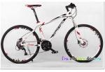 (หมด)จักรยานเสือภูเขา Twitter รุ่น TW4900 สีขาวแดง