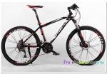 (หมด)จักรยานเสือภูเขา Twitter รุ่น TW4900 สีดำแดง