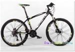 (หมด)จักรยานเสือภูเขา Twitter รุ่น TW4900 สีดำเขียว