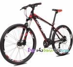 (หมด)จักรยานเสือภูเขา Twitter รุ่น TW7500 สีดำแดง