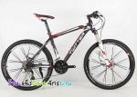 (หมด)จักรยานเสือภูเขา Twitter รุ่น TW5500XC สีดำแดง