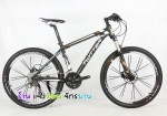 (หมด)จักรยานเสือภูเขา Twitter รุ่น TW5500XC สีดำน้ำตาล