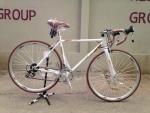 (หมด) จักรยานเสือหมอบ WCI รุ่น ultra สีขาว