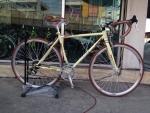 (หมด) จักรยานเสือหมอบ WCI รุ่น ultra สีครีม