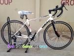 (หมด)จักรยานเสือหมอบ WCI รุ่น Fusion สีขาว/ดำ