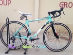 (หมด)จักรยานเสือหมอบ WCI รุ่น Fusion สีเขียว/ดำ