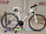 (หมด)จักรยานไฮบริด WCI รุ่น Burnner สีขาว