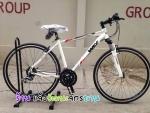 (หมด)จักรยานไฮบริด WCI รุ่น Burnner สีเงิน